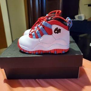 Jordan 10 retro toddler shoes